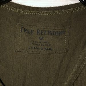 True Religion Boys T-shirt